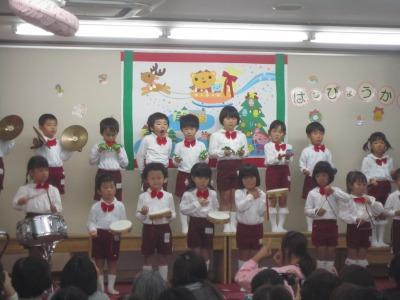 11月の子ども達と生活発表会